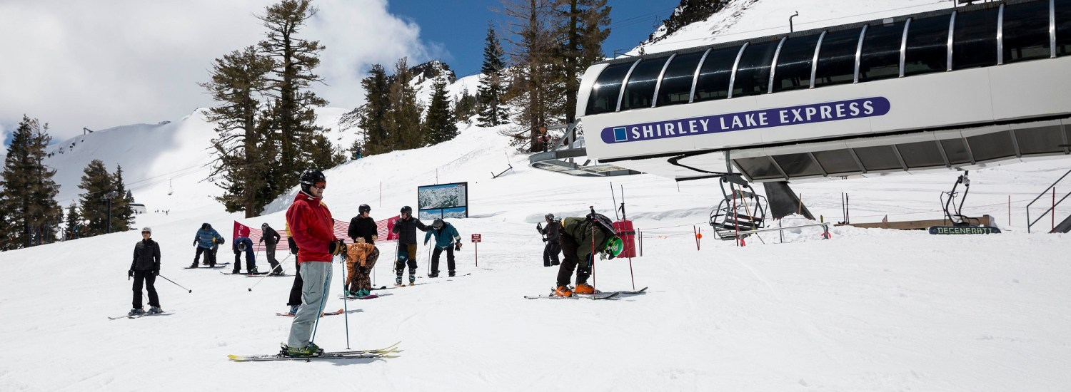 Squaw Valley California Shirley Lift