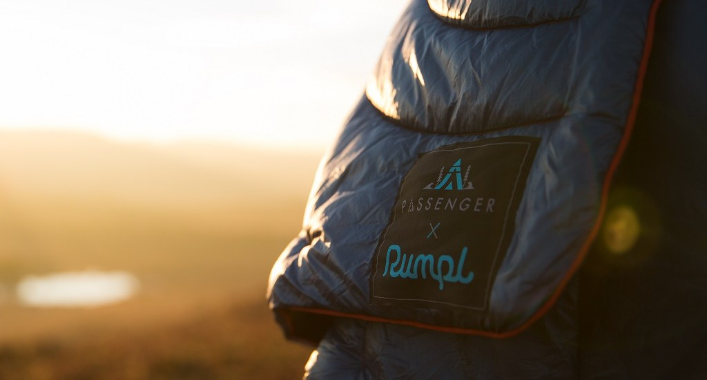 Rumpl Puffy Blanket Passenger Collab Field Test