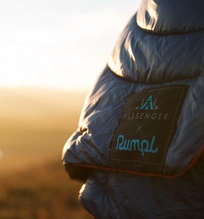 Rumpl Puffy Blanket Passenger Collab Field Test