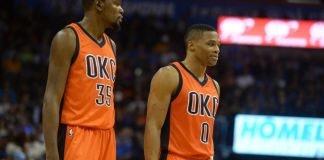 Kevin Durant & Russell Westbrook could both sign with the Lakers after their contracts expire.