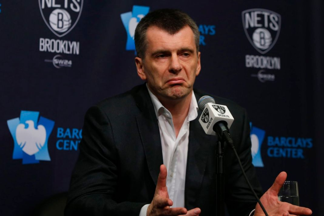 Mikhail Prokhorov must find a new coach for the Nets after firing Lionel Hollins.