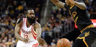 James Harden scored 27 to lead the Rockets' comeback against the Cavs.
