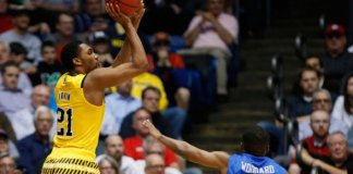 Zak Irvin's late three helps lead Michigan to the NCAA Tournament