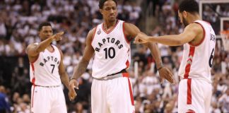 DeMar DeRozan scored 34 in Toronto's Game 5 victory