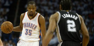 Kevin Durant scored 41 in OKC's Game 4 victory