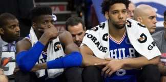 Philadelphia exploring the option of trading Nerlens Noel or Jahlil Okafor
