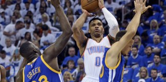 Russell Westbrook records triple-double in OKC's Game 4 rout of Golden State