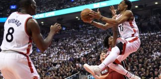 The Toronto Raptors advanced to the East Finals with their 116-89 win over Miami