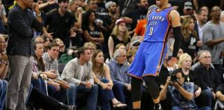 Russell Westbrook went for 35/11/9 in OKC's Game 5 win in San Antonio