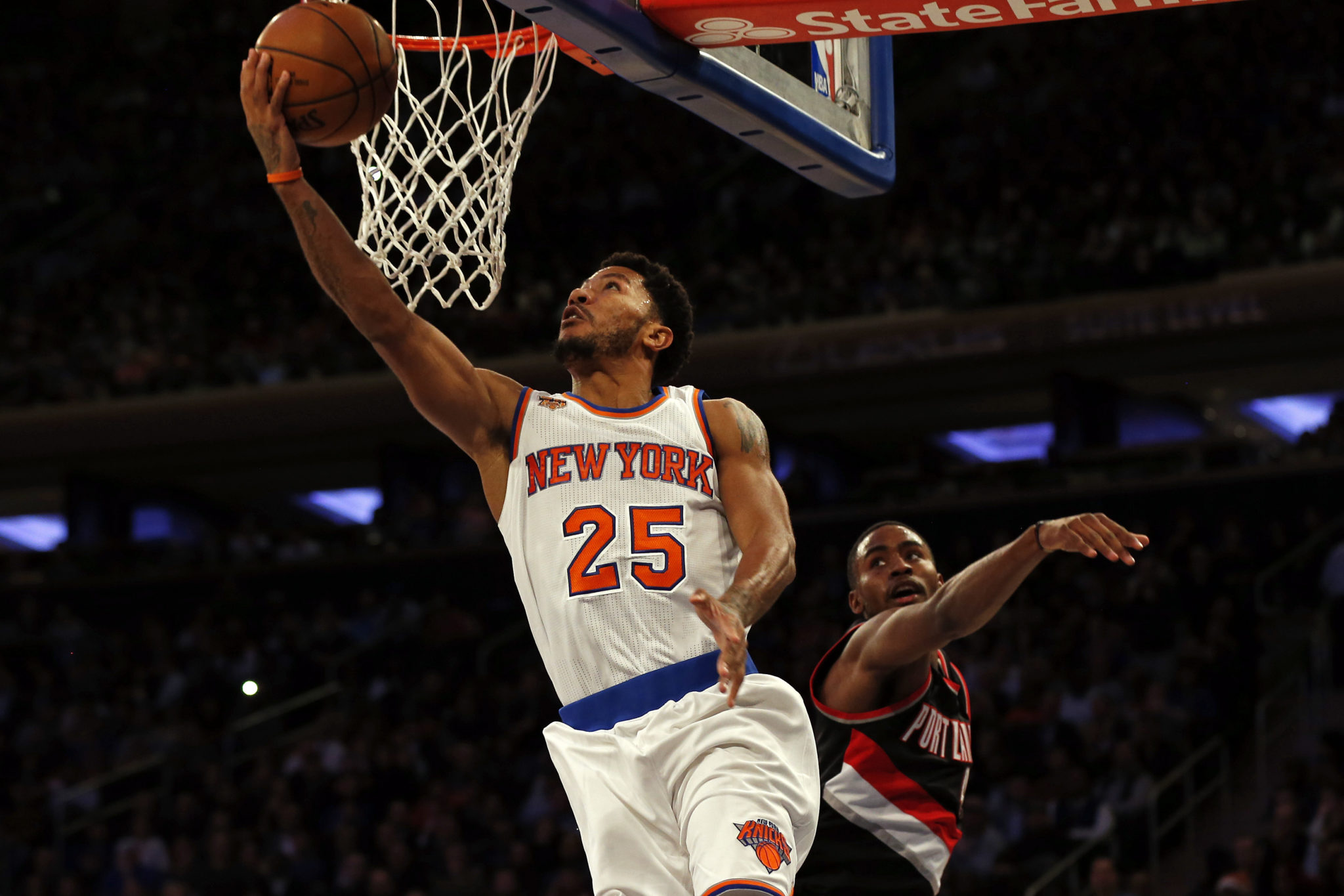 569333fe9e41 New York Knicks  Derrick Rose Understands He ll Never Be His Old Self