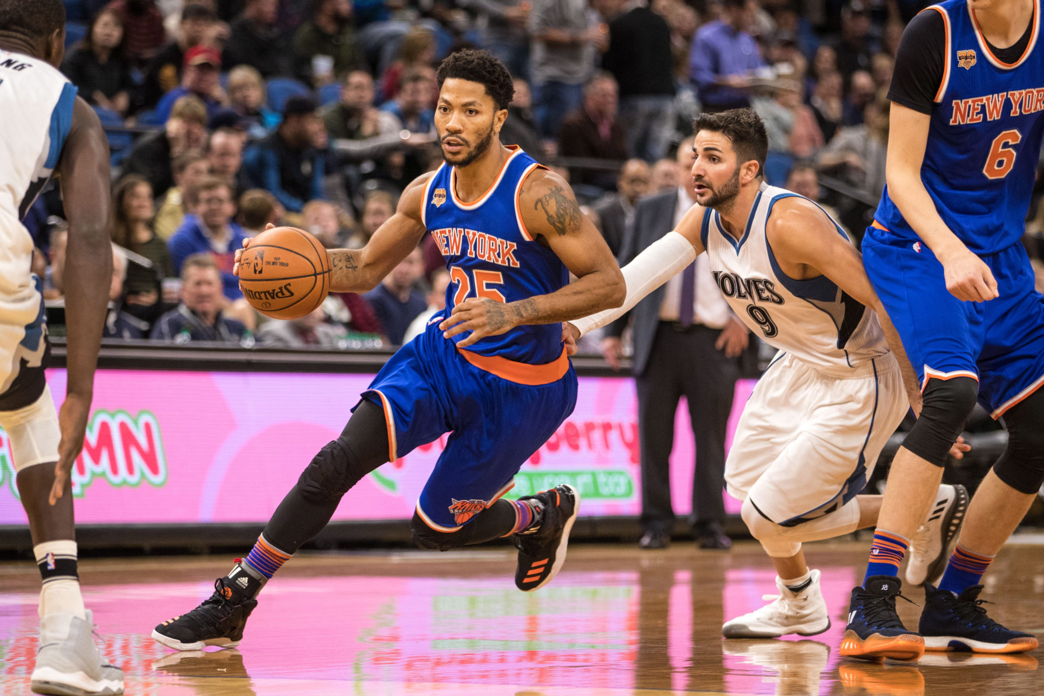 Timberwolves reject New York Knicks' Derrick Rose-Ricky Rubio trade proposal