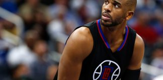 Dec 14, 2016; Orlando, FL, USA; LA Clippers guard Chris Paul (3) looks on against the Orlando Magic during the second half at Amway Center. LA Clippers defeated the Orlando Magic 113-108. Mandatory Credit: Kim Klement-USA TODAY SportsqDec 14, 2016; Orlando, FL, USA; LA Clippers guard Chris Paul (3) looks on against the Orlando Magic during the second half at Amway Center. LA Clippers defeated the Orlando Magic 113-108. Mandatory Credit: Kim Klement-USA TODAY Sports