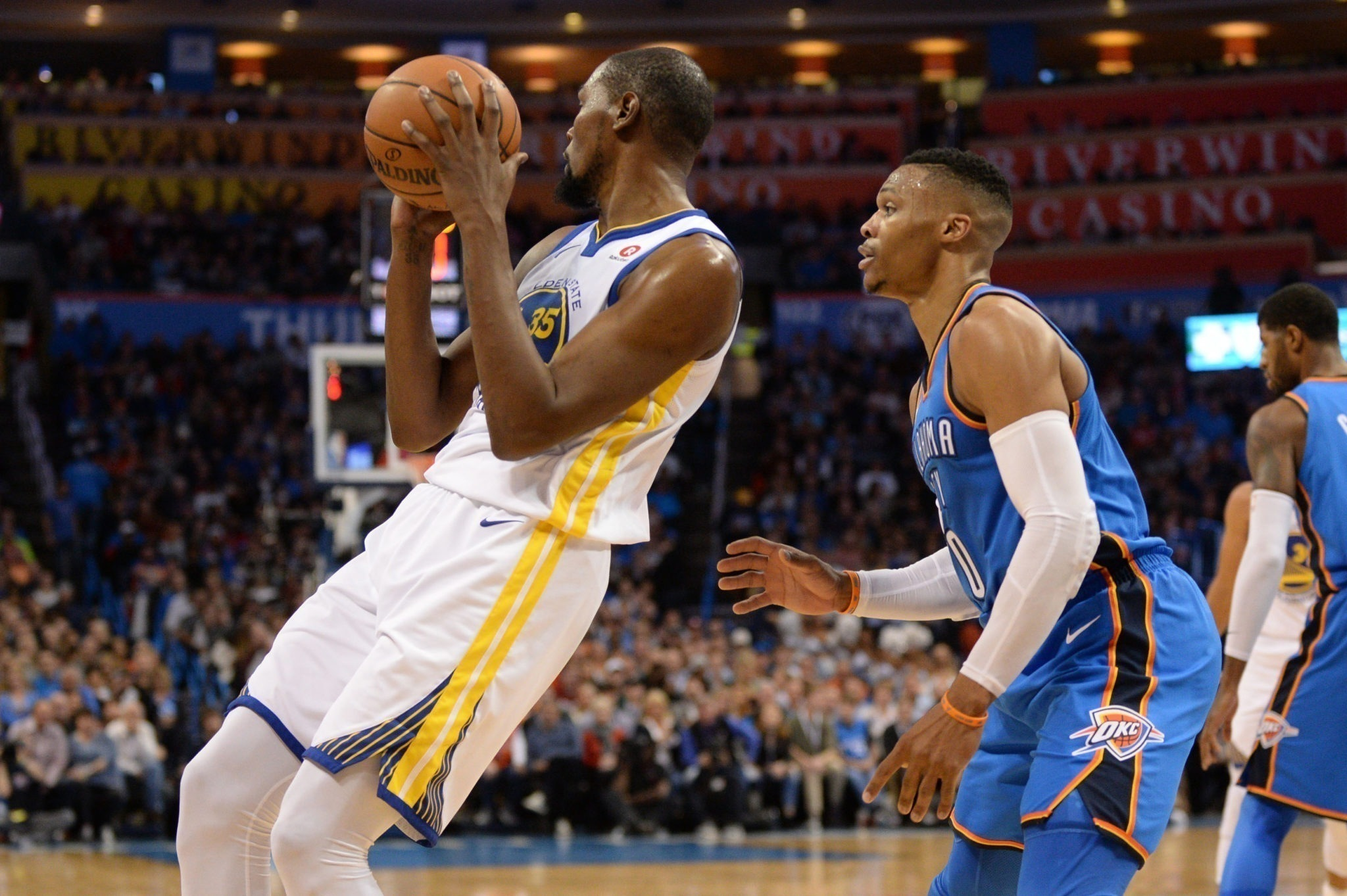 Warriors star Durant says he will play against Thunder