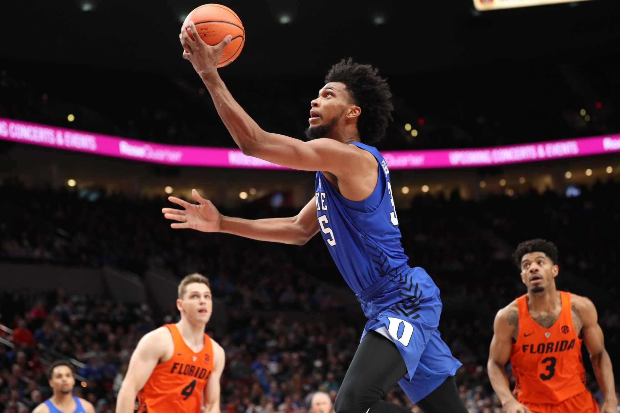 Bagley, No. 1 Duke down Indiana
