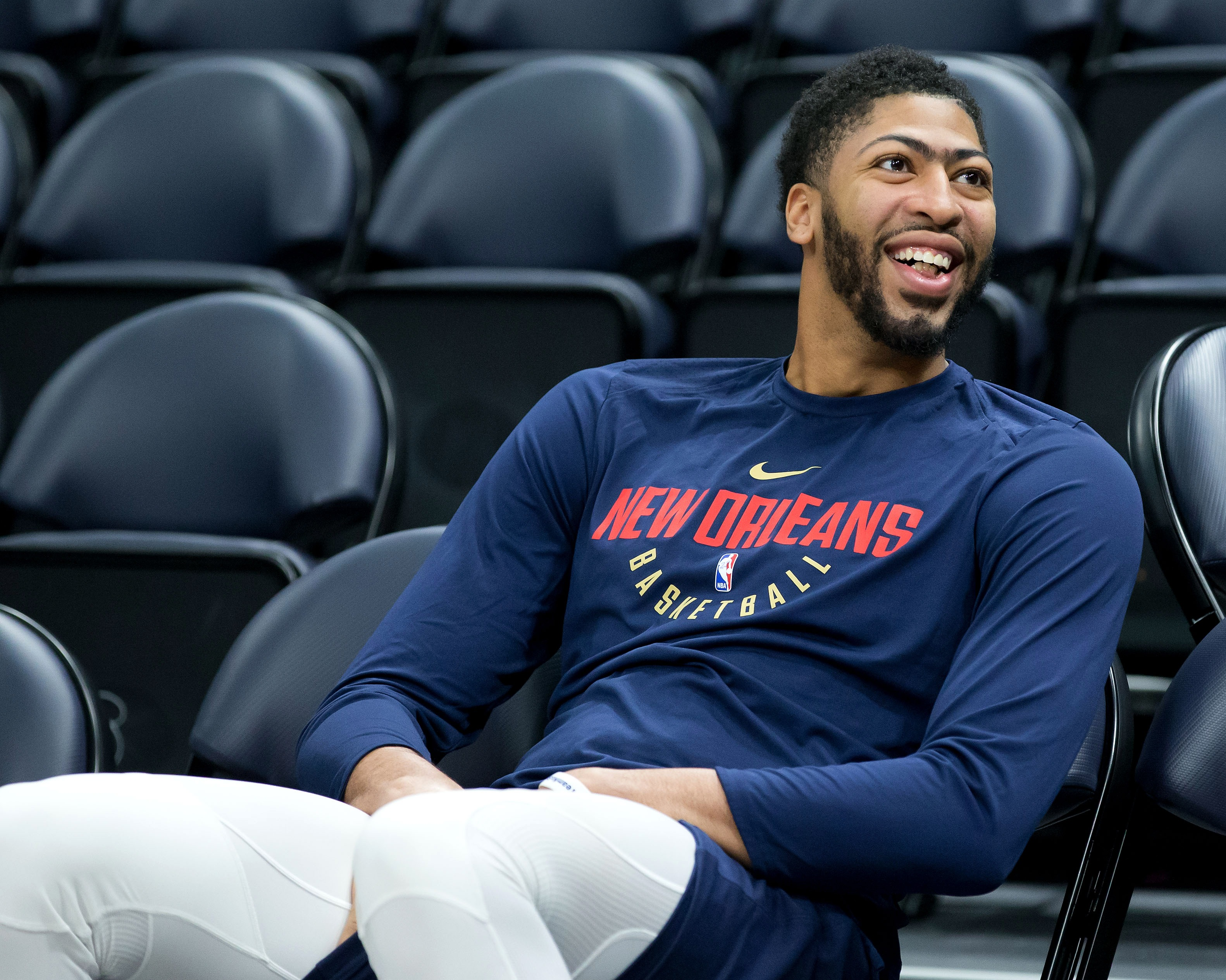 Pelicans' Anthony Davis: 'I've been loyal to this organization'