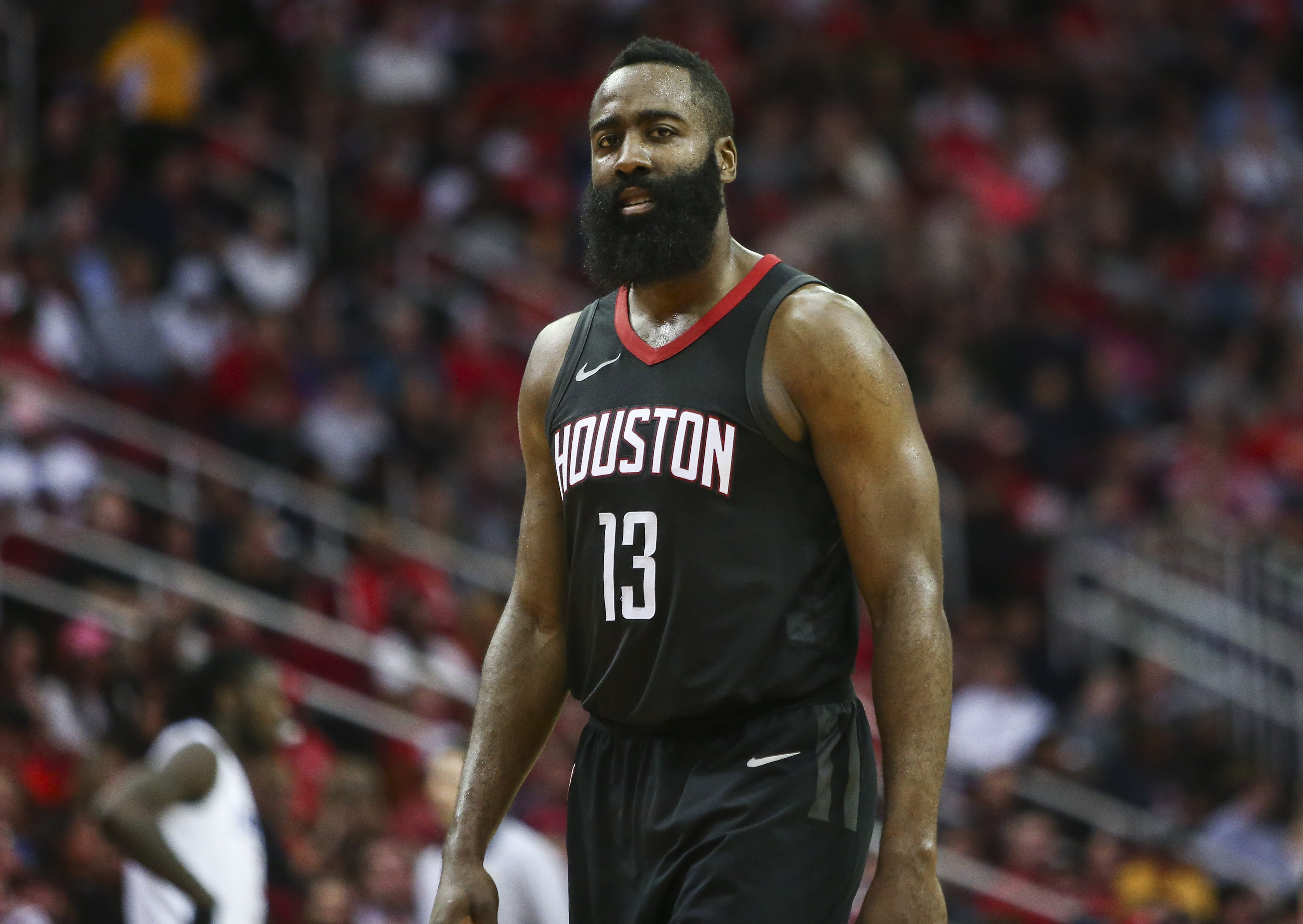 c4d85e30a5c0 Three-Man Weave  James Harden Drops 51 But Rockets Fall To Clippers