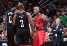 NBA: Damian Lillard, Chris Paul, Portland Trail Blazers