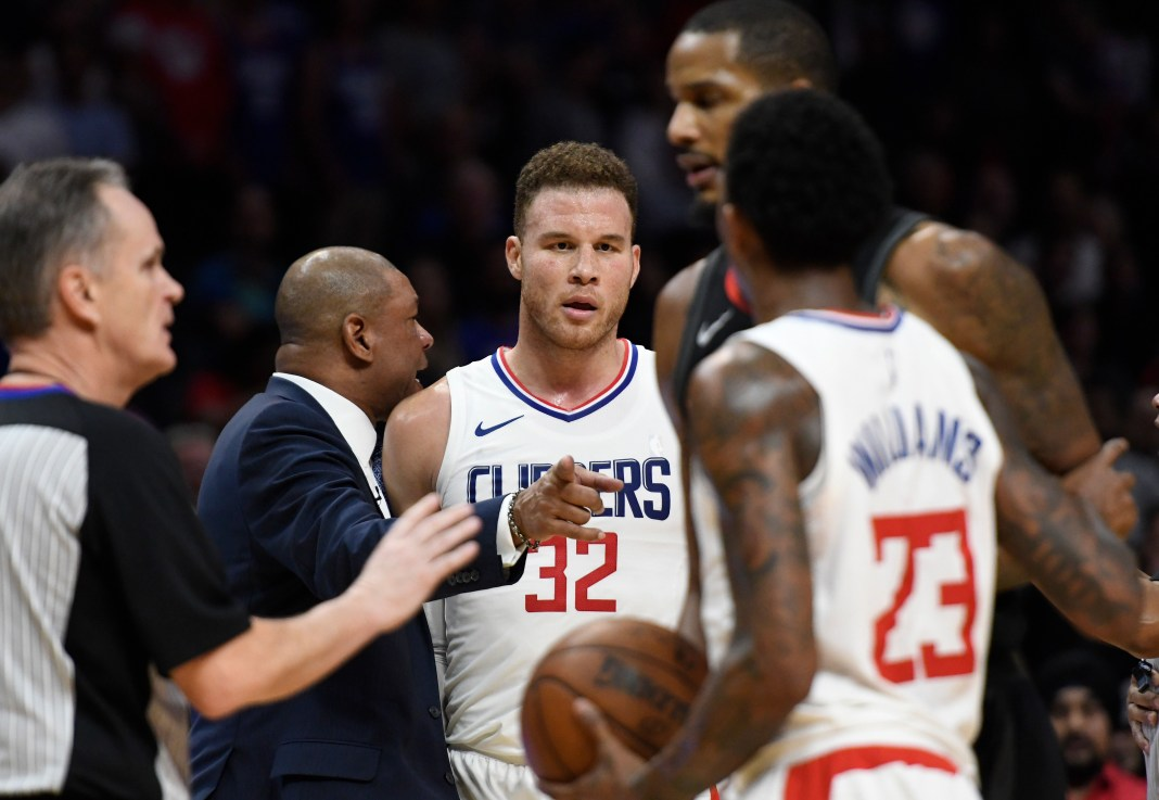 NBA: Houston Rockets, Los Angeles Clippers, Blake Griffin