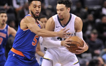 NBA: New York Knicks, Memphis Grizzlies, Courtney Lee