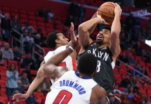 NBA: Brooklyn Nets, Spencer Dinwiddie, Detroit Pistons