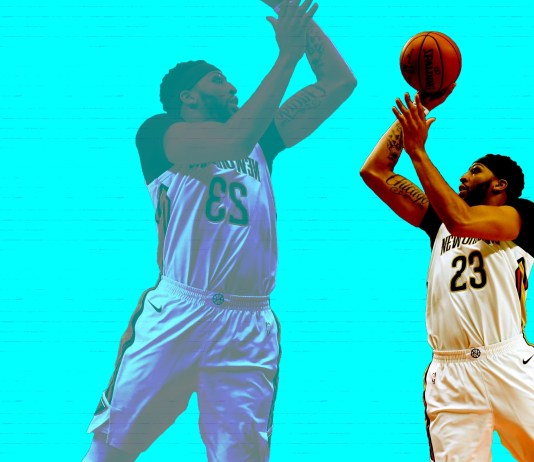 In basketball, the floater is one of the most challenging shots to master, but Anthony Davis has bucked that stigma. (Mandatory Credit: USATSI / TBN Media Illustration)