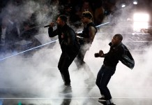 Feb 19, 2017; New Orleans, LA, USA; Recording artist Michael B. Jordan performs before the 2017 NBA All-Star Game at Smoothie King Center. Mandatory Credit: Derick E. Hingle-USA TODAY Sports