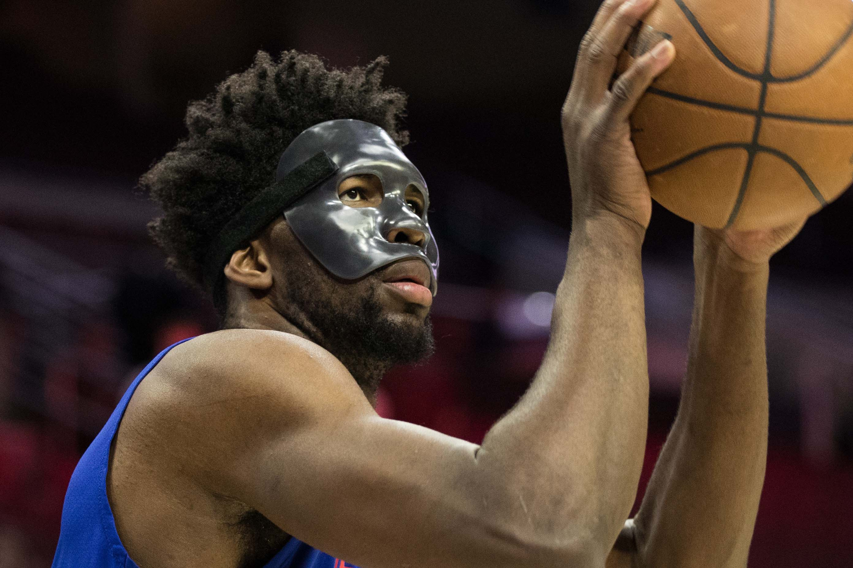 Heat's Winslow fined $15K for stepping on Embiid's mask