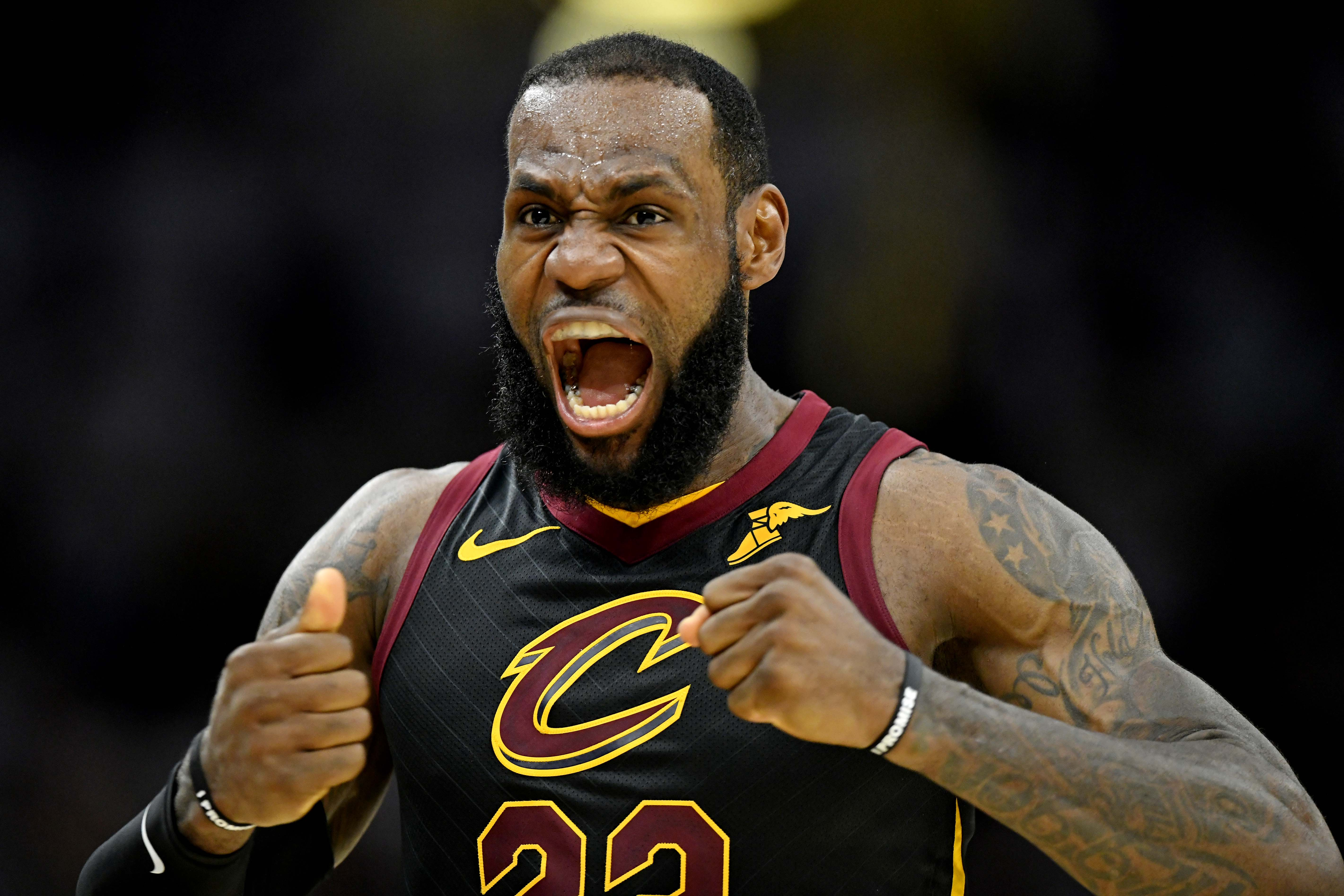 lebron turned into a demigod to stave elimination
