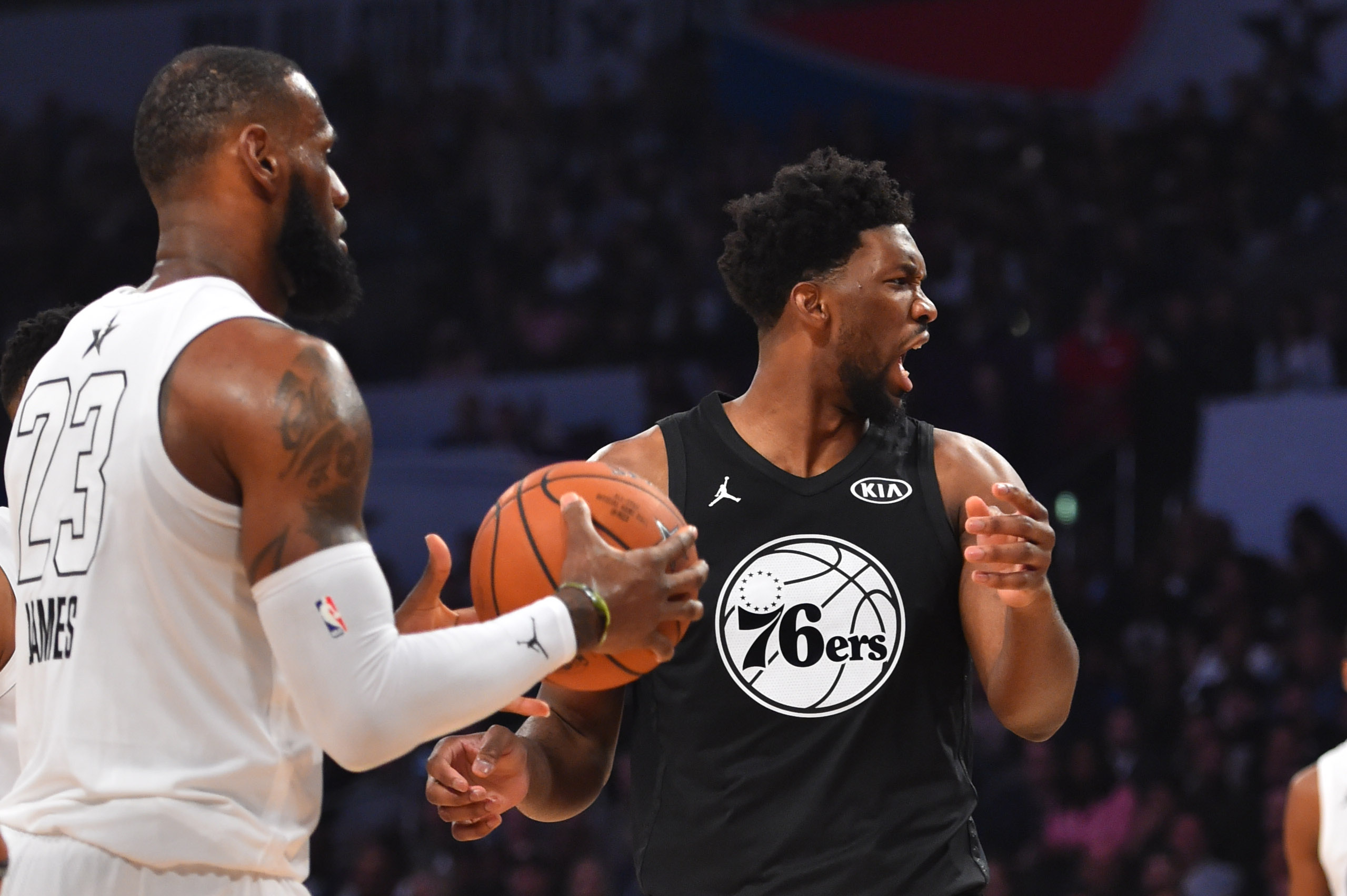 7154204a4d34 Joel Embiid Unsurprisingly Wants LeBron James In Philadelphia