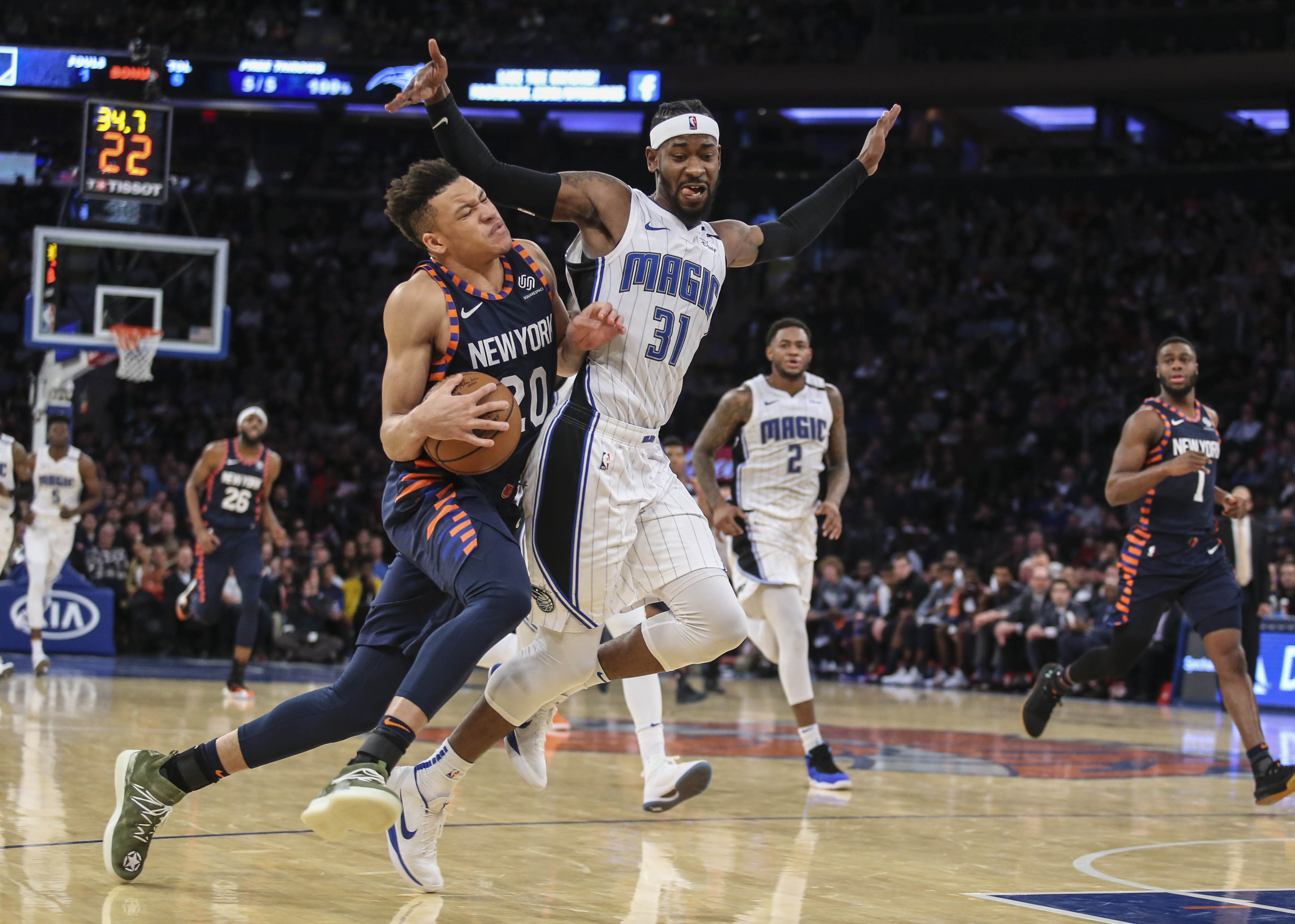 fc8f7653549 New York Knicks  Patience Is Critical In The Growth Of Kevin Knox