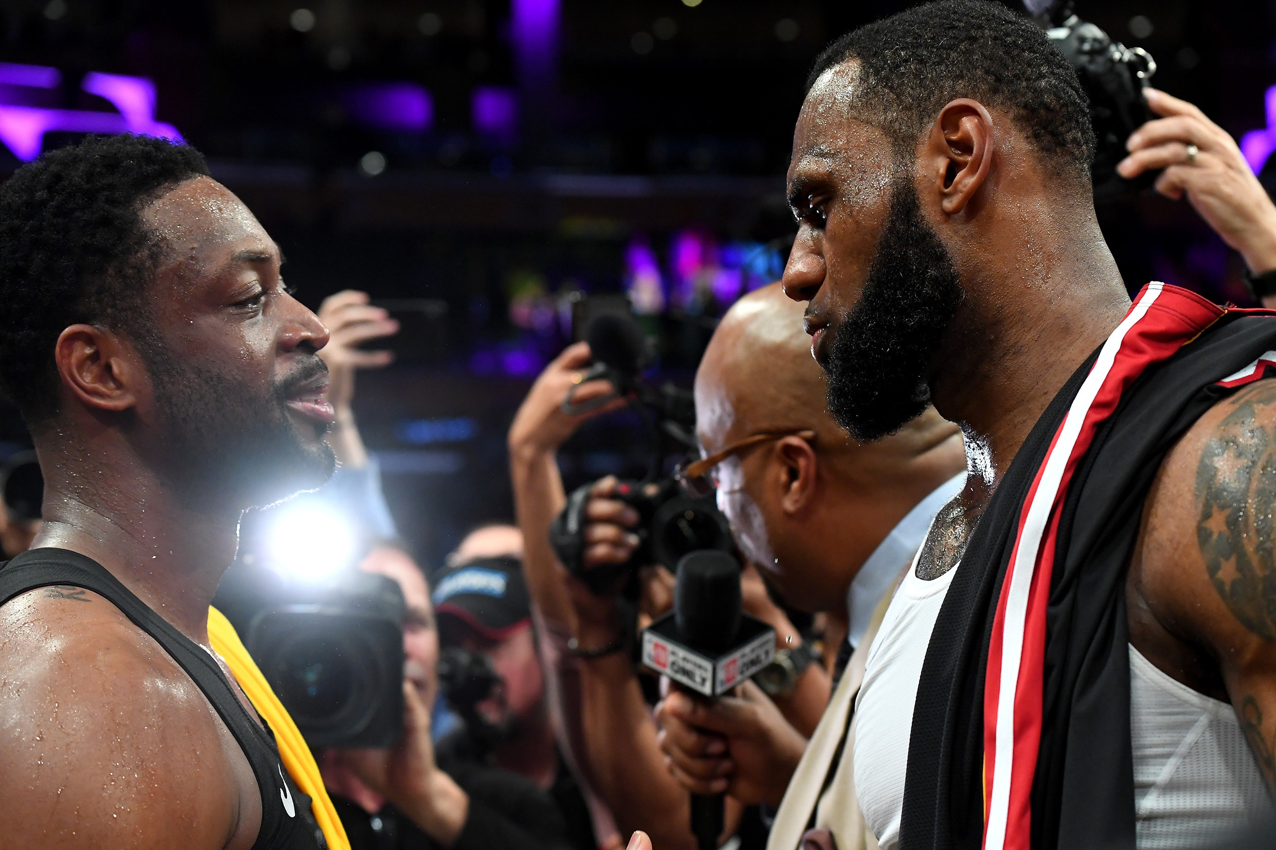 830a8d3eb2eb Dwyane Wade Defends LeBron James Against Critics - TBN Media Daily