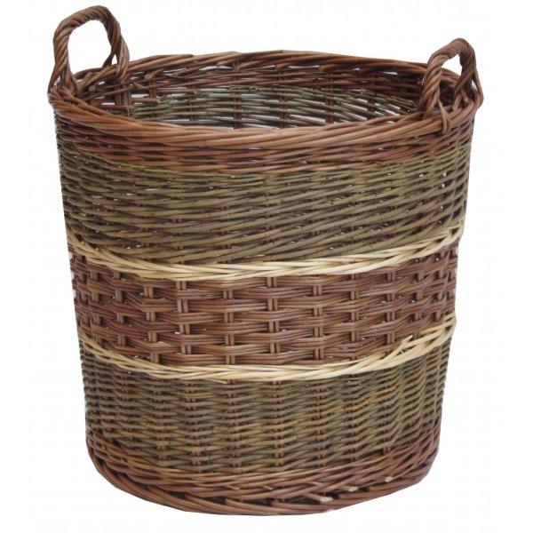 Large Round Wicker Baskets