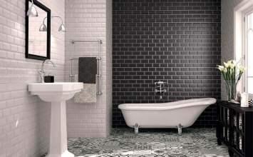 Tendencia en decoración de baños: azulejos tipo Metro