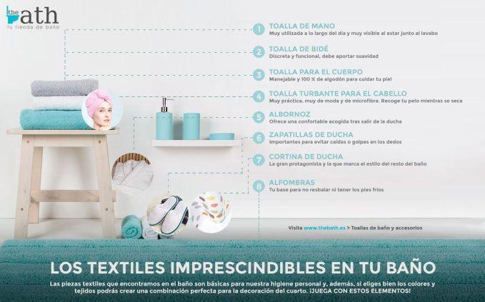 Textiles para banos