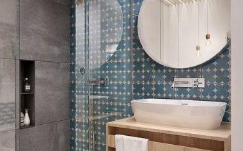Espejos redondos para el baño, nueva tendencia en decoración de baños