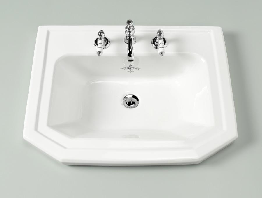 Inset Vanity Basin 700mm  The Bath BusinessThe Bath Business