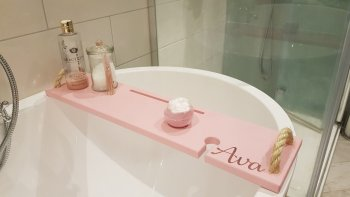 Personalised Bath ray