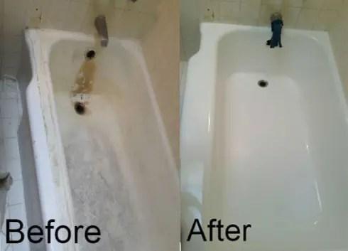 Bathtub Refinishing Chip Repair  Tile Steam Cleaning in Fresno CA  The Bathtub Medic