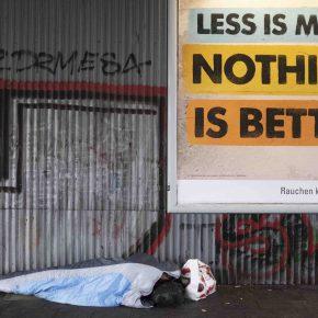 Neoliberalism is everywhere. Alexanderplatz, Berlin