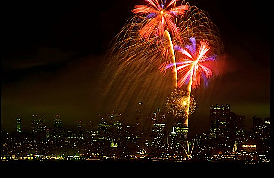 Fourth of July in San Francisco
