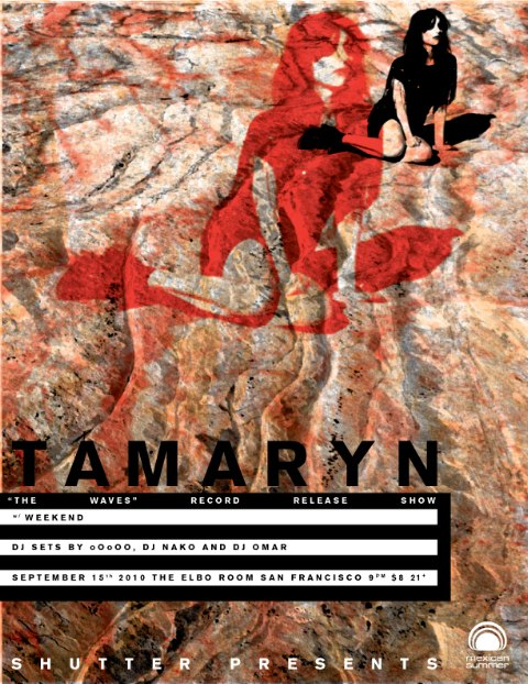 tamaryn release show poster