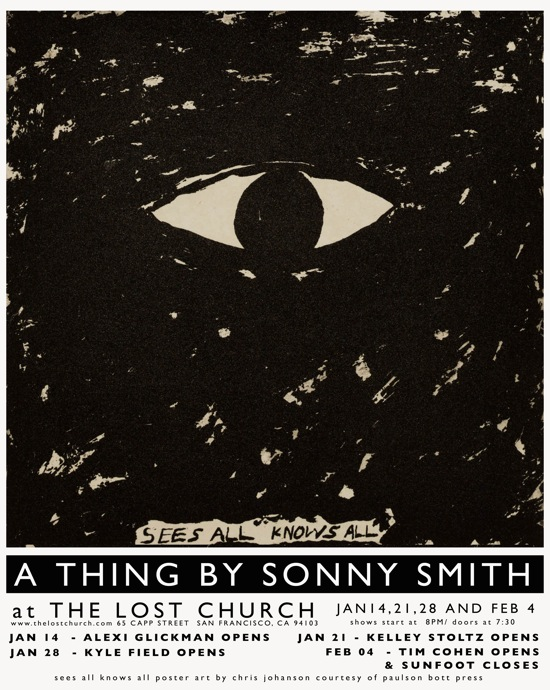 Sonny Smith - Sees All Knows All
