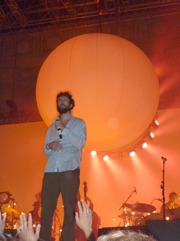 Edward Sharpe and the Magnetic Zeros - Greek Theatre 9-7-12 - photo by Roman Gokhman 3
