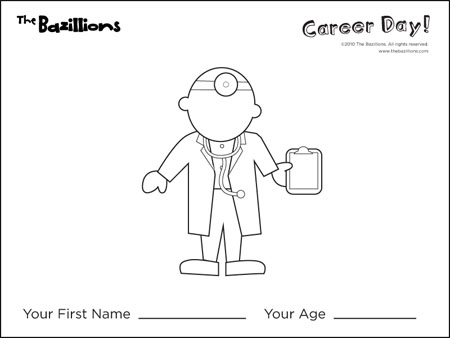 Career Day Coloring Sheets Coloring Pages