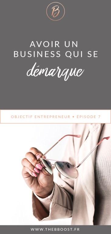 Comment trouver son élément différenciateur pour un business qui se démarque ? Je vous donne mes pistes ici ! www.thebboost.fr #entreprendre #freelance #autoentrepreneur #blogging