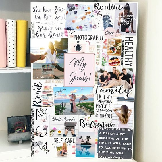 coaching professionel : utiliser le vision board