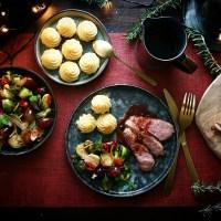Gerookte eendenborst met Porto saus - A Christmas classic