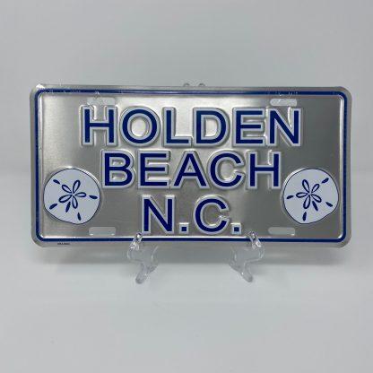 Holden Beach License Plate - Classic Sand Dollar