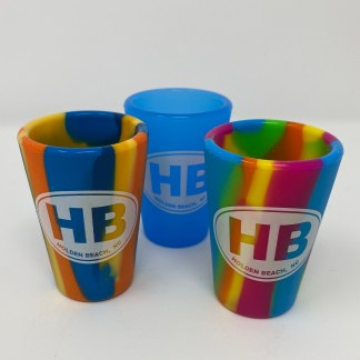 Holden Beach Silipint Shot Glasses