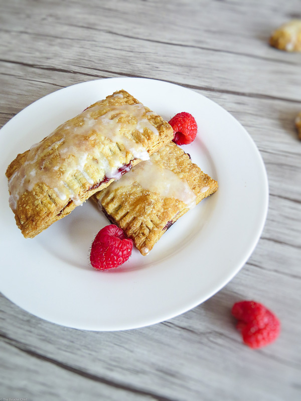 Homemade Pop-Tarts - Throw the store bought pop-tarts out and enjoy this delicious homemade version with yummy pâte brisée and your favourite jam!